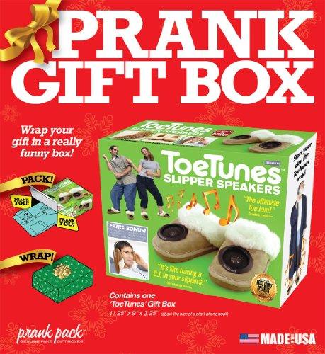 "61vqan5NzCL - Prank Pack ""Toe Tunes - Standard Size Prank Gift Box"